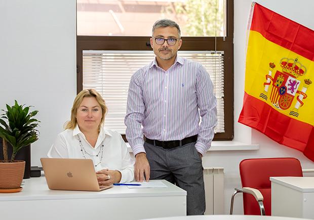 Роберт и Екатерина Цаллаговы, основатели Испанского Бюро